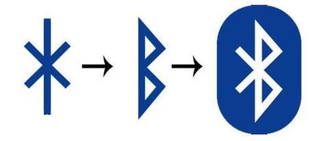 simbolo bluetooth rey dinamarca harald blatand