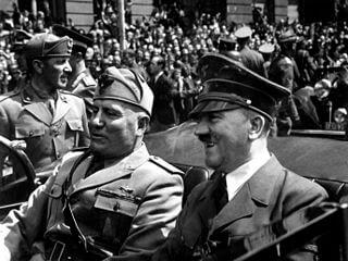 Mussolini y Hitler (1940)