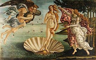 el nacimiento de venus botticelli