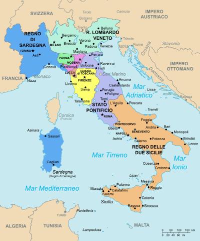 estados italianos (1815-1859)