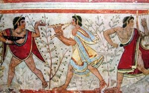 pintura fresco etruscos