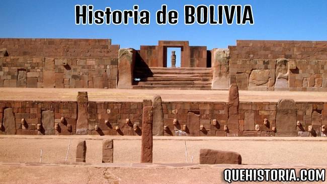 breve historia resumida de bolivia