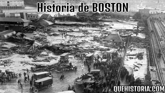 breve historia resumida de boston