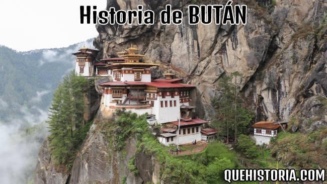 breve historia resumida de butan
