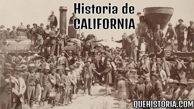 breve historia resumida de california