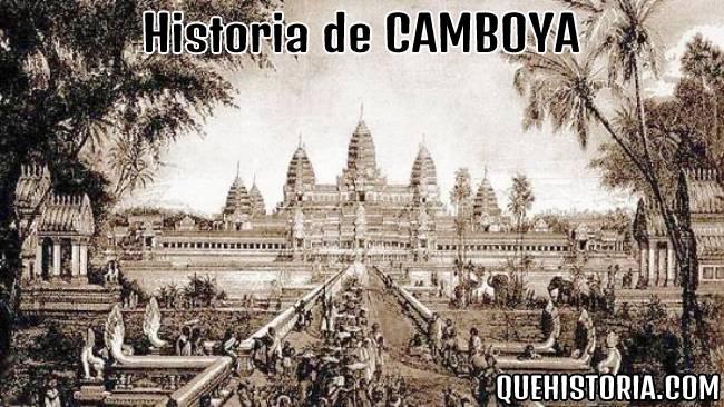 breve historia resumida de camboya