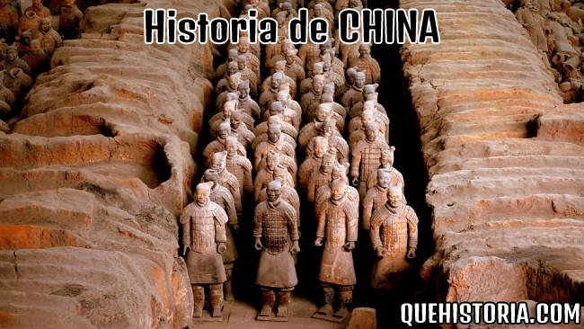 breve historia resumida de china