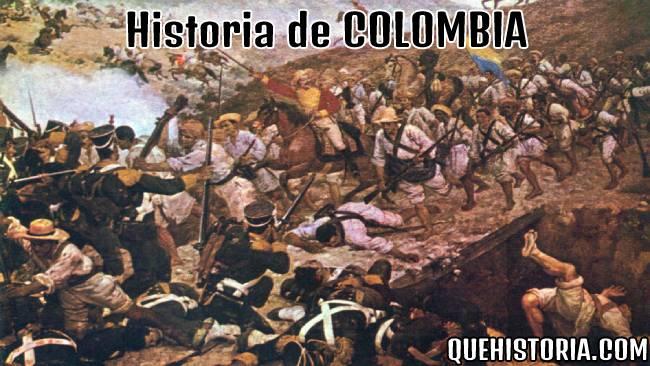 breve historia resumida de colombia