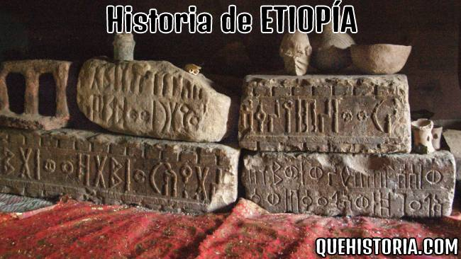 breve historia resumida de etiopia