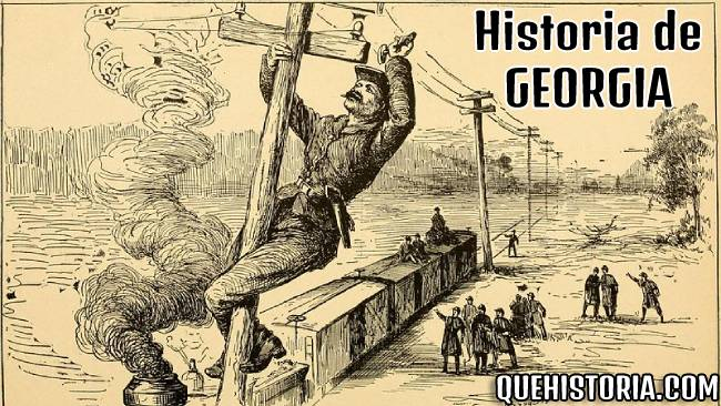 breve historia resumida de georgia eeuu