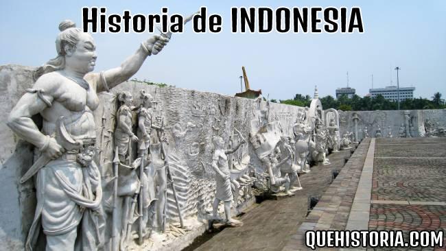 breve historia resumida de indonesia
