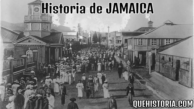 breve historia resumida de jamaica