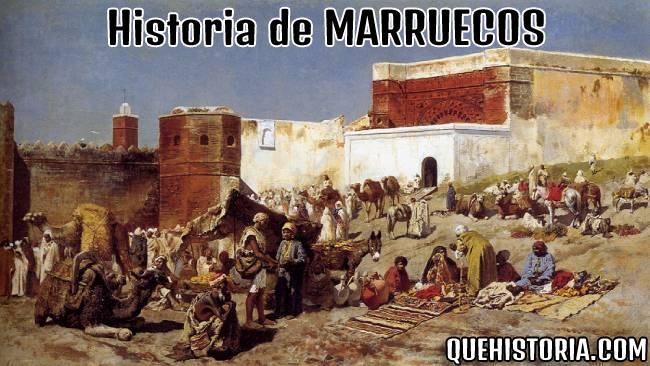 breve historia resumida de marruecos