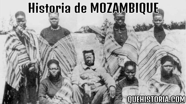 breve historia resumida de mozambique