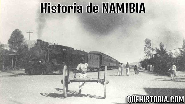 breve historia resumida de namibia