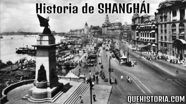 breve historia resumida de shanghai