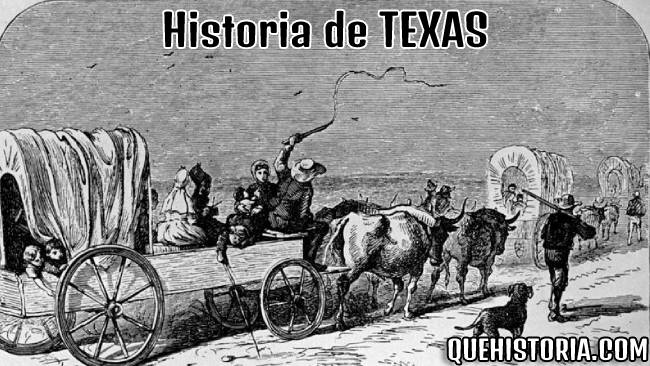 breve historia resumida de texas