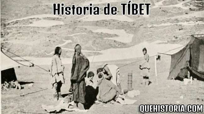 breve historia resumida de tibet