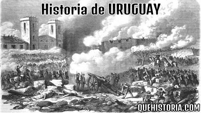 breve historia resumida de uruguay