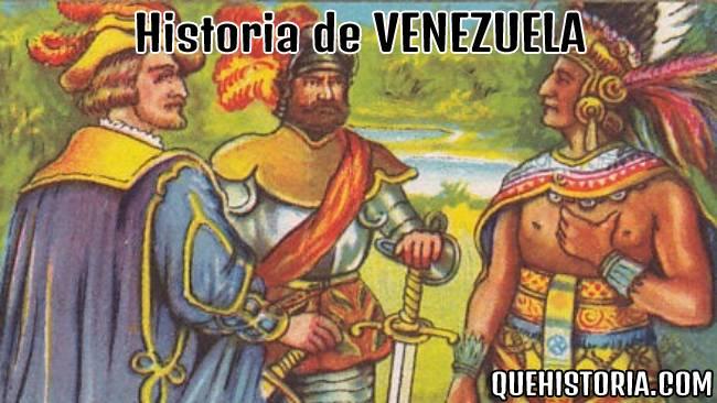 breve historia resumida de venezuela