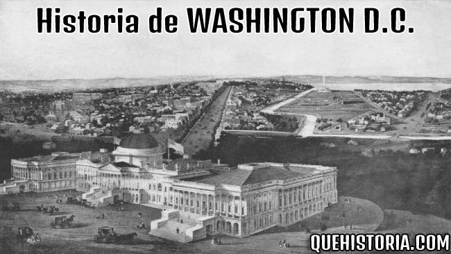 breve historia resumida de washington dc