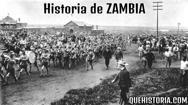 breve historia resumida de zambia
