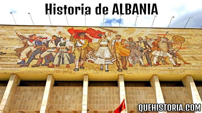 breve historia resumida de albania