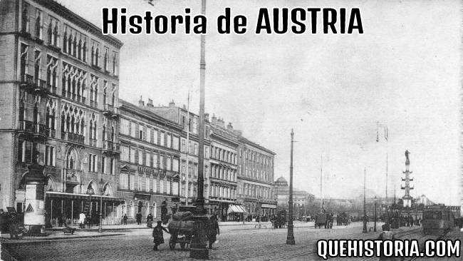 breve historia resumida de austria
