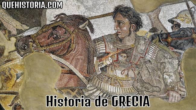 breve historia resumida de grecia