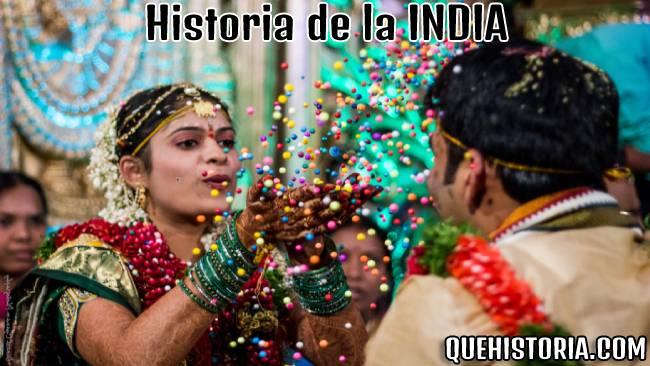 breve historia resumida de la india