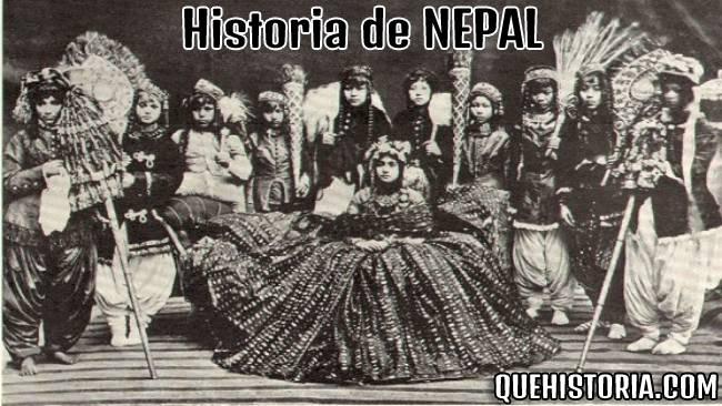 breve historia resumida de nepal