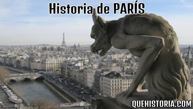 breve historia resumida de paris