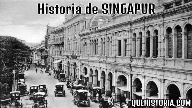 breve historia resumida de singapur