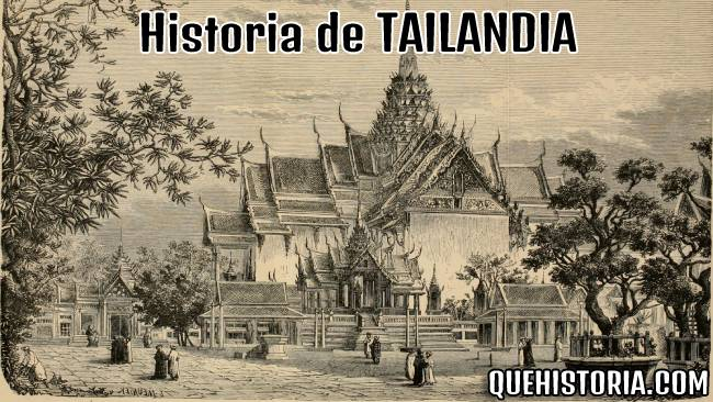breve historia resumida de tailandia