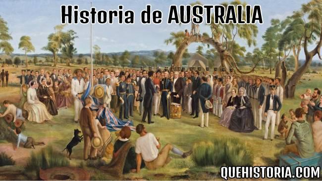 breve historia resumida de australia
