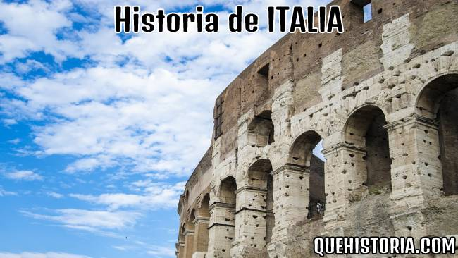 breve historia resumida de italia