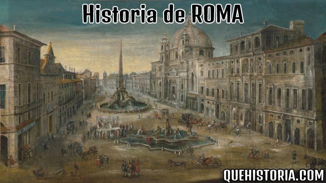 breve historia resumida de roma